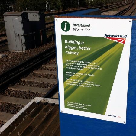 Windsor Lines Platform Lengthening P1