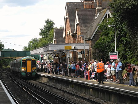 Railway Operations During The Olympics Dorking North And